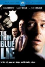 The Thin Blue Lie (2000) afişi