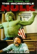 The Trial Of The Incredible Hulk (1989) afişi