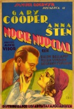 The Wedding Night (1935) afişi