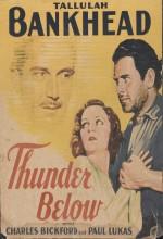 Thunder Below (1932) afişi