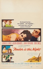 Tender is The Night (1962) afişi