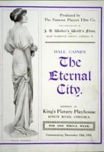 The Eternal City (1915) afişi