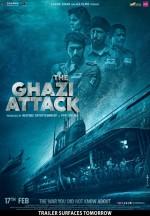 The Ghazi Attack (2017) afişi