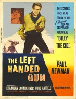 The Left Handed Gun (1958) afişi