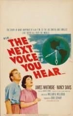 The Next Voice You Hear (1950) afişi