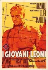 The Young Lions (1958) afişi