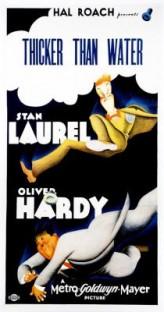 Thicker Than Water (|) (1935) afişi