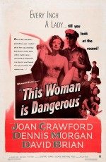 This Woman Is Dangerous (1952) afişi