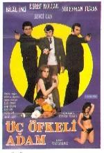 Üç öfkeli Adam (1971) afişi