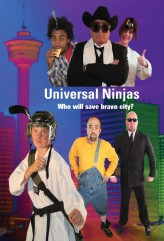 Universal Ninjas (2012) afişi