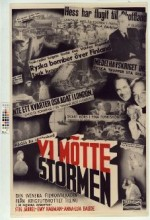 Vi Mötte Stormen (1943) afişi