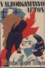 Valborgsmässoafton (1935) afişi
