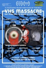 VHS Massacre: Cult Films and the Decline of Physical Media (2015) afişi
