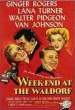 Week-end At The Waldorf (1945) afişi