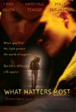 What Matters Most (ı) (2001) afişi