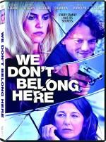 We Don't Belong Here (2017) afişi