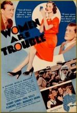 Women Are Trouble (1936) afişi