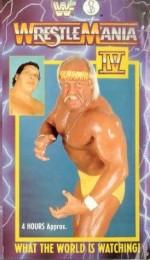 WrestleMania 4 (1988) afişi