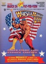 WrestleMania 7 (1991) afişi