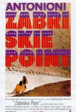 Zabriskie Point (1970) afişi