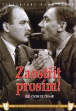 Zaostrit, Prosím! (1956) afişi