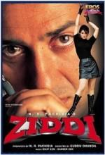 Ziddi (1997) afişi