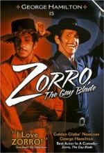 Zorro, The Gay Blade (1981) afişi