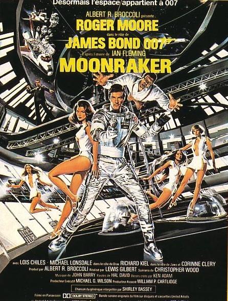 007 James Bond: Ay Harekatı (1979) afişi