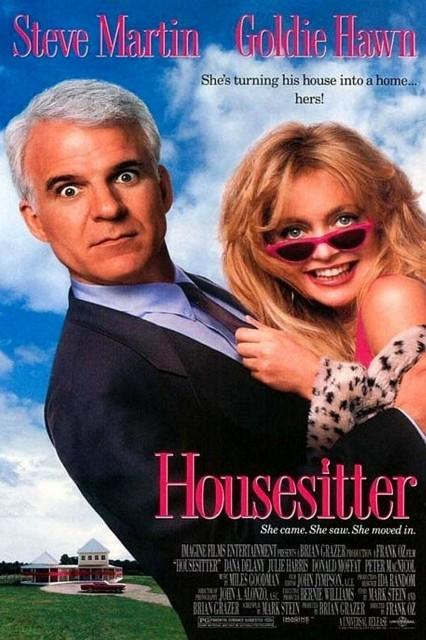 HouseSitter (1992) afişi