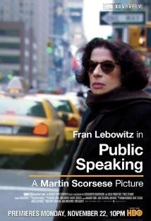 Public Speaking (2010) afişi