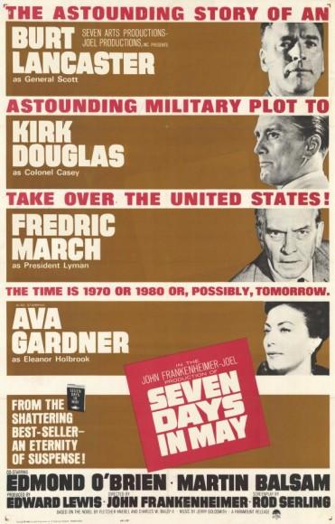 Seven Days in May (1964) afişi