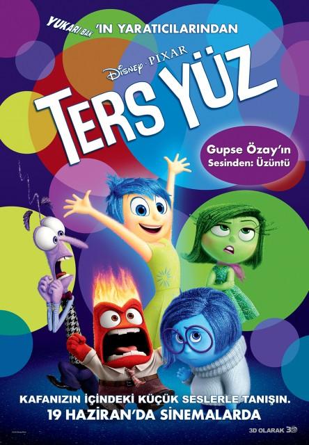 Ters Yüz (2015) afişi