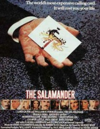 The Salamander (1981) afişi