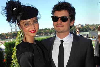 Orlando Bloom ve Miranda Kerr Nişanlandılar.