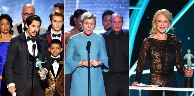 Oscar'ın habercisi SAG Ödülleri (2018) sahiplerini buldu