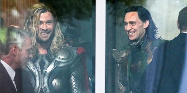 'Thor' ve 'Loki' Avengers 4 Setinde