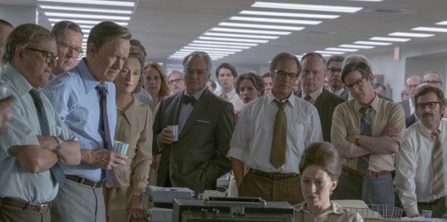 Tom Hanks ve Meryl Streep 'The Post'ta Buluştu