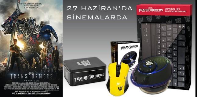 Transformers: Kayıp Çağ Filminden Özel Hediyeler Karşınızda!